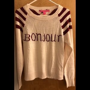 Bonjour Sweater